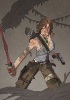 Tomb Raider by J0N-Lankry