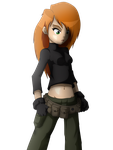 Kim Possible - Anime version by japoloypaletin