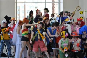 Silly ONE PIECE -- AB2010 by staticguru