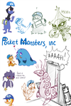 Pocket Monsters, inc by Frozenspots
