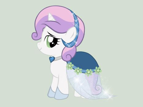 Sweetie Belle - Gala Dress by miesmauz