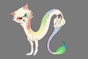 Cat Dragon Adoption5 .:CLOSE:. by TheSlayer15