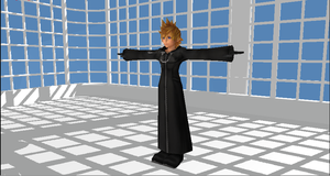 young Roxas for MMD by Valforwing