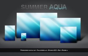 Summer Aqua by balderoine