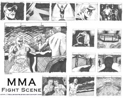 MMA Storyboards Page 1 by MatthewKaplowitz