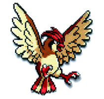 #017 - Pidgeotto by Aenea-Jones