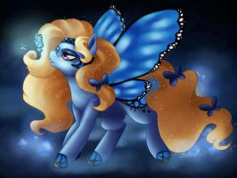 Blue Butterflies: AT by Dewdrop-210