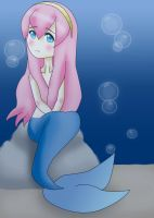 Luka: The Little Mermaid by Pikaripeaches