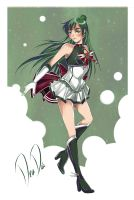 Super Sailor Pluto - New Outfit Redesign by daadia