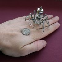 Vacuum Spider No 7 (II) by AMechanicalMind