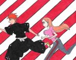 Ichigo and Orihime by IchiHime-Lover16