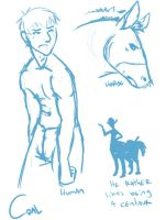 HUMAN OR HORSE OR HUMANHORSE by Kingess