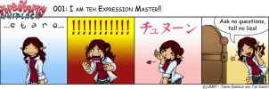 SW: I am teh Expression Master by tazsaints