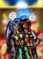 Jecht and Seymour Drunk by MetalChocobo