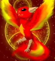 A Fire Godess by Sahirathedragoness