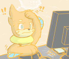 ...Drawing Rush by BuizelCream