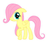 Filly Fluttershy [Animated Gif] by ABluSkittle