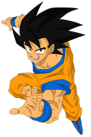Son Goku by SergioDouglas94