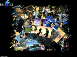 Final Fantasy VIII Collage. by Sheikahno