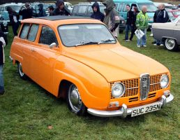 Saab 95 by smevcars