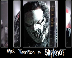 Mick Thompson ov Slipknot by avatard