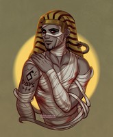 Monster Countdown: MummyNHotep by daekazu