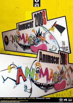 ANIMACOR 2008_Wall 1 by Chiko190