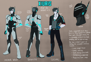 Xiuris Reference by thotoh