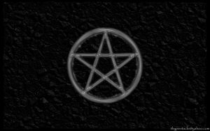 Pentacle on Crumpled Parchment by thypentacle