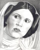 Princess Leia from A New Hope by Storm01535