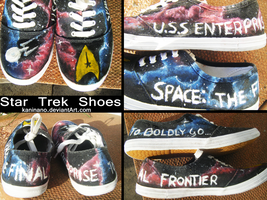 Star Trek Shoes For Sale by Kaninano