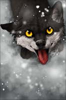 .:Striker's looking up:. by WhiteSpiritWolf