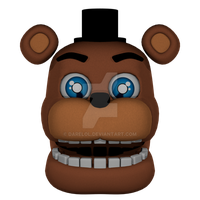 FNaF World: Adventure Withered Freddy WIP by DareLOL