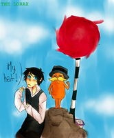 The Once-ler and The Lorax by Iggy-Taxidermy