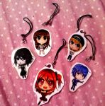 Remote Angel Phone Charms by FaithWalkers