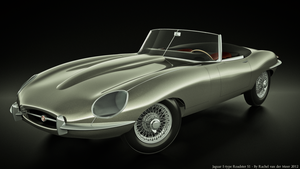 Jaguar E-Type S1 Roadster by rvdm88
