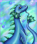Water Dragon by Sabientje