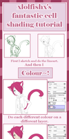 Cell shading tutorial by xlolfishx