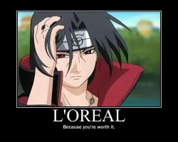 Itachi Demotivational. by MissMondayMourning