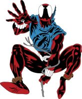 Scarlet Spider Unfinished by Moelleuh