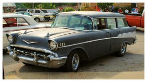 Primered 57' Chevy Wagon by TheMan268