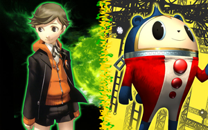 Persona - Ken and Teddie by SonicGenerations1234