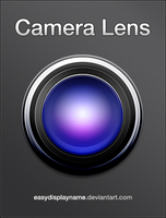 Camera Lens - .psd by easydisplayname