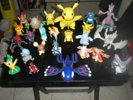 Pokemon Figurines Collection by shiny-latios01