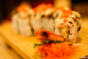Crunchy Dragon Roll ! by KuroDot