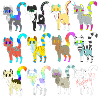{15 point kitten adopts~} by SherbyxSiaAdopts