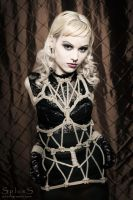 Rope Dress by BlackRoomPhoto