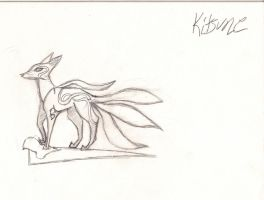 Kitsune for contest by bleedingpyre