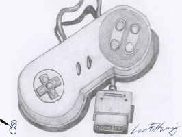 Super Nintendo Pad by Starcat666