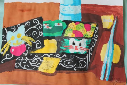Concours Bento pour Nathaniel by Kelodin